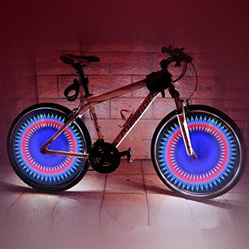 Bazaar 32 LED diy bicyclette programmable allant à vélo la lumière de roue