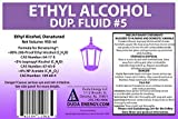 Denatured Ethanol with 200-Proof Ethyl Alcohol