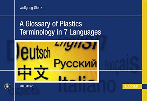 Descargar Libro A Glossary Of Plastics Terminology In 7 Languages German Komarov