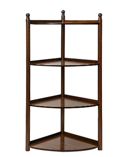 Bookcase Simple And Modern Corner Shelves Living Room Stand Bedroom Storage Shelf Landing Flower