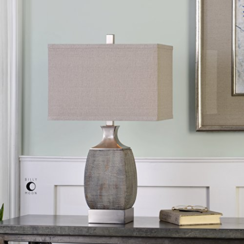 - The Uttermost Caffaro Rust Bronze Table Lamp