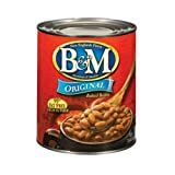 B & M Originial Baked Beans - 7 lb. 4oz. can, 6 cans per case