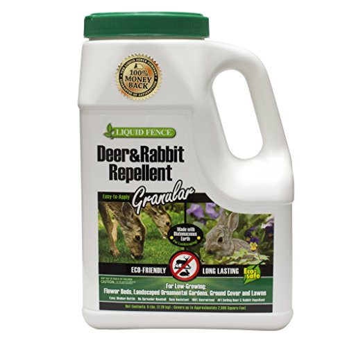 Liquid Fence Deer and Rabbit Repellent Granular, 5-Pound