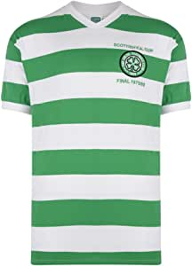 Celtic Glasgow - 1980 Scottish Cup final camiseta, color Verde - verde y blanco, tamaño M: Amazon.es: Deportes y aire libre