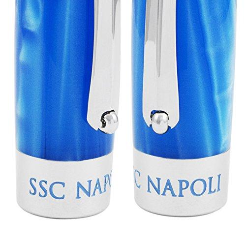 Montegrappa Fortuna Special Edition Società Sportiva Calcio Napoli Blue Rollerball Pen ISFONRPC by Montegrappa (Image #3)