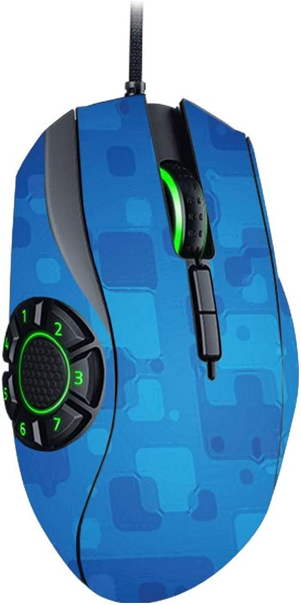 Durable MightySkins Skin Compatible with Razer Naga Hex V2 Gaming Mouse Remove and Change Styles Protective Blue Retro and Unique Vinyl Decal wrap Cover Easy to Apply Made in The USA