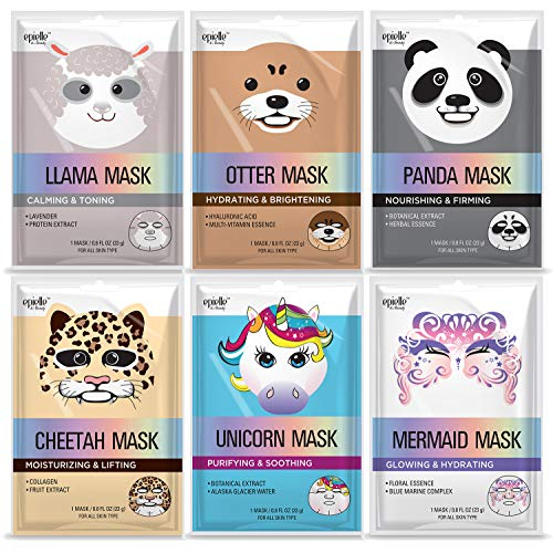 Character Mask (assorted-6pk) ()