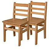 Wood Designs WD81602 Child's Chair, 16'' Height Seat, (2) Per Carton