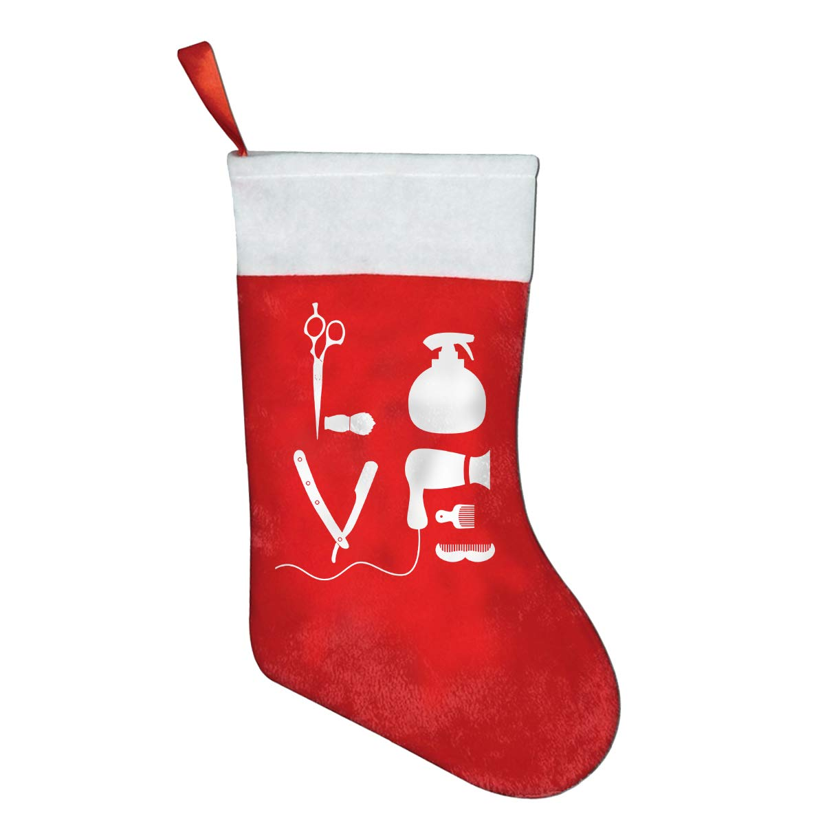 Red Boxing Gloves Christmas Sock Gift Bag Christmas Decoration Always Be Yourself