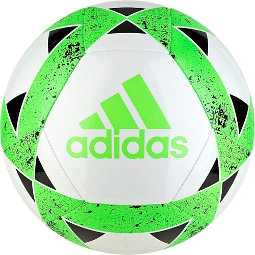 9d12e189eb70 adidas Starlancer V Soccerball White-Solar Green  3