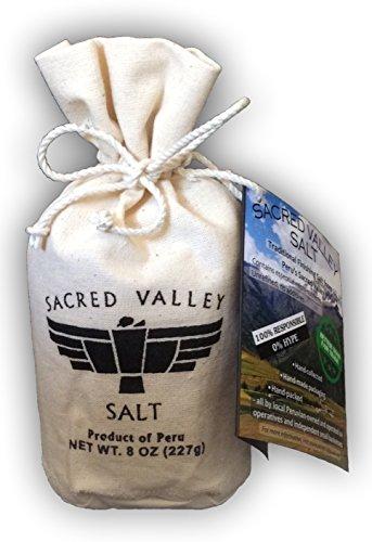 Sacred Valley Salt from Maras, Peru - 8oz pouch