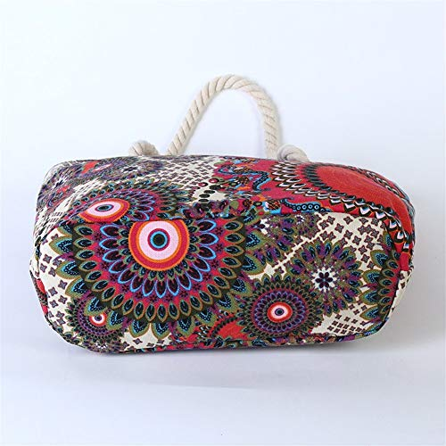 Ysswjzz dam stor väska-shopping-handväska, axelväska, sport och fritid multifunktionella väskor