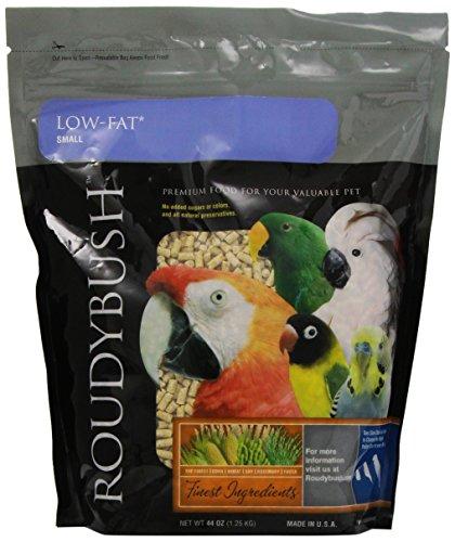 RoudyBush Low Fat Bird Food, Small, 44-Ounce ()
