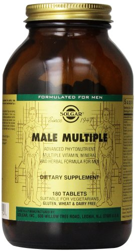 Solgar Male Multiple 180 Tablets product image