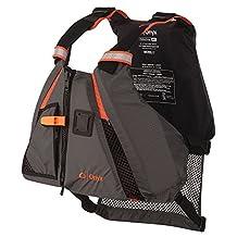 Onyx MoveVent Dynamic Paddle Sports Life Vest, Orange