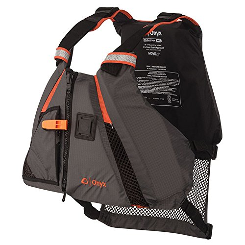 Onyx MoveVent Dynamic Paddle Sports Life Vest, Orange, X-Large/XX-Large