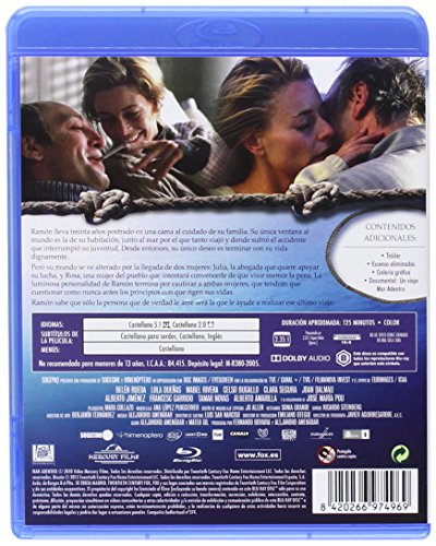 The Sea Inside (Mar Adentro) [Blu-Ray Region B Import - Spain]