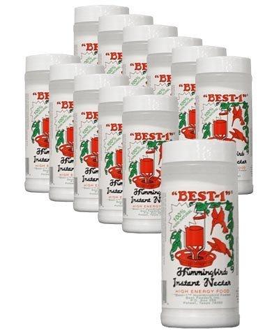 Bulk Buy of Best-1 Instant Hummingbird Nectar Powder, Clear, 14 oz. Bottles