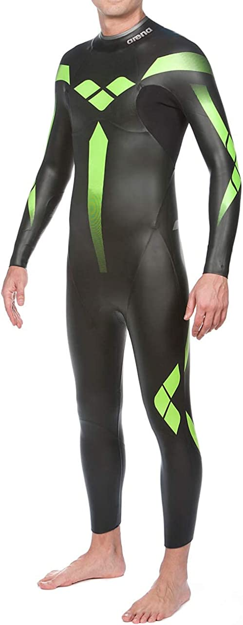 arena Men's Triathlon Wetsuit Triwetsuit Full Sleeve Neoprene for Open Water Swimming, Ironman and USAT Approved: Clothing