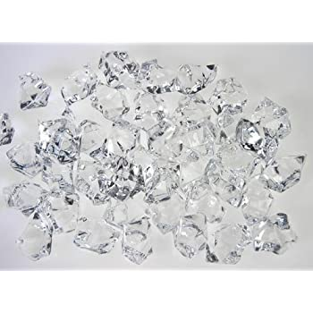 Amazon Aketek Translucent Clear Acrylic Ice Rocks For Vase