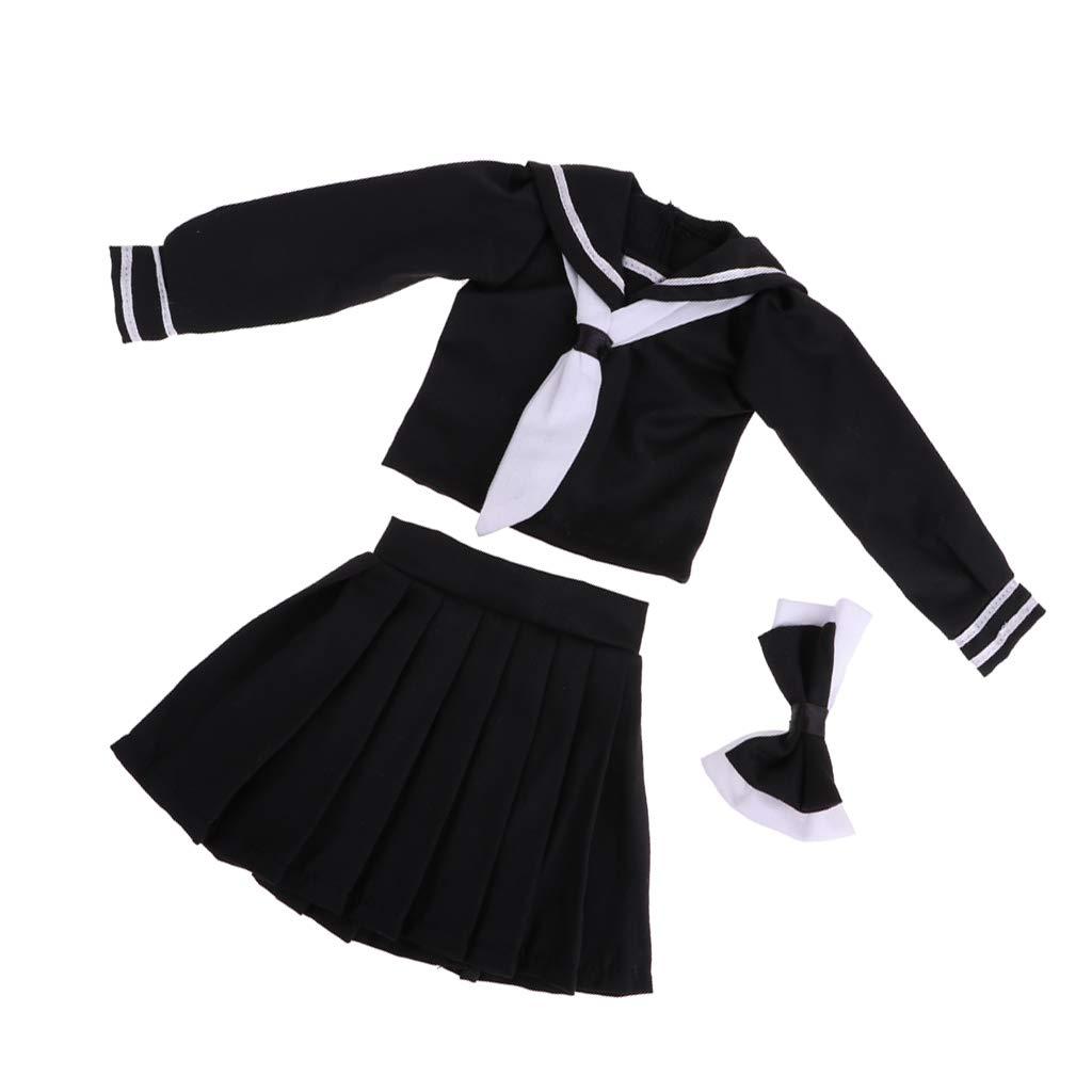 # A Schwarz CUTICATE 1//3 BJD Super Dollfie Outfits Lolita Kleid Prinzessin Kleid F/ür Nacht Lolita