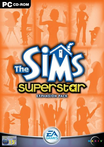 The Sims: Superstar Expansion Pack (PC CD) by Electronic Arts