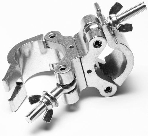 American Dj Supply Proswivel Clamp Clamp And Turn As Needed Two 360 Degree Clamps 2 Inch