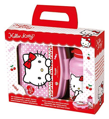 p:os 24322 - Pausenset Hello Kitty, 2-teiliges Set im Geschenkkarton