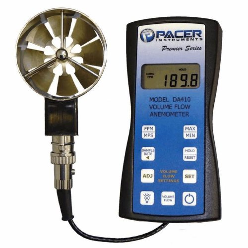 Image of Anemometers Pacer DA400 Precision Vane Anemometer with 2.75' Vane