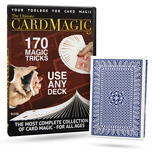 Magic Makers Ultimate Card Magic Kit - Your Toolbox for Card Tricks