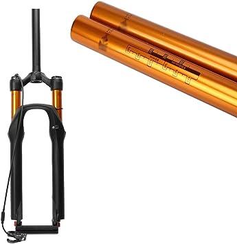 MZP MTB Horquilla Suspensión para Bicicleta 26 27.5 In Tubo Recto ...