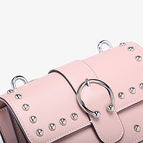 Mignon Body Bandoulière Cross Petit Mode Sac Sac à Bag Casual à Womens Main Pink 5CIwqS77
