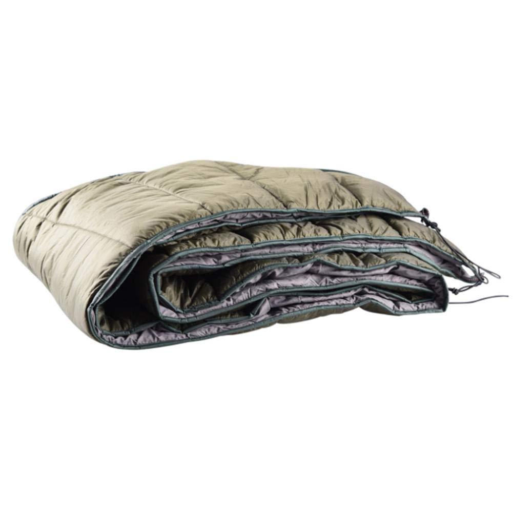 Chengstore Double Hammock Underquilt Leggero Campeggio Invernale sotto la Coperta Amaca Caldo sotto Trapunta Isolante Pieghevole Full Length