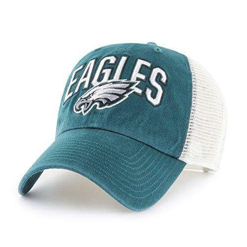 NFL Philadelphia Eagles Men's Decry OTS Challenger Adjustable Hat, Team Color, One Size