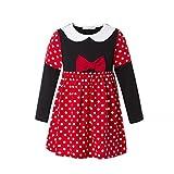 RK413 Girls' Minnie Halloween Fancy Dress Dance Costume Toddler Princess Dress up