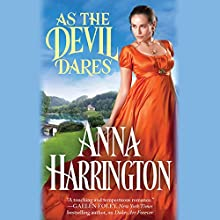 As the Devil Dares Audiobook by Anna Harrington Narrated by Justine Eyre