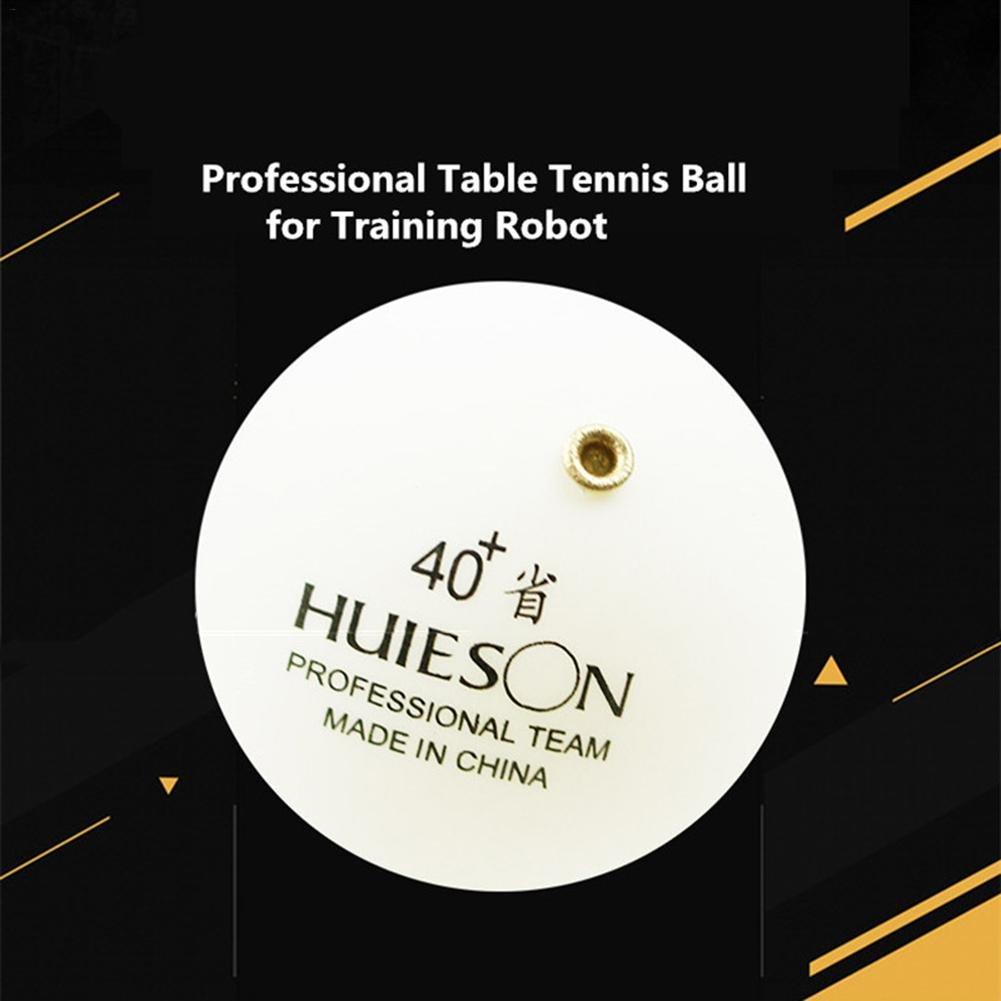 gaeruite Pelota de Tenis de Mesa Profesional Fija con Orificios de Bronce para Tenis de Mesa, Entrenamiento de Robot
