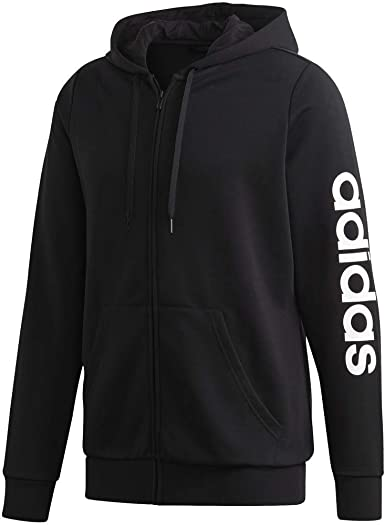 adidas womens Essentials Hooded Track Top