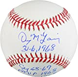 Denny McLain Detroit Tigers Autographed Baseball with Multiple Inscriptions - Fanatics Authentic Certified