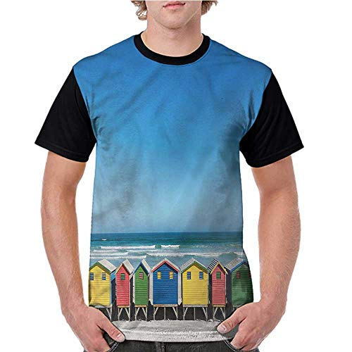 University Of Cape Town South Africa - Tops O Neck T Shirts,Travel,Cape Town South Africa S-XXL Sleeves for Men