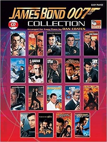 james bond 007 collection easy piano