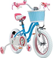 Royalbaby Stargirl Bike, Girl's Bike, 12 14 16 18 Inch Wheels, Pink or