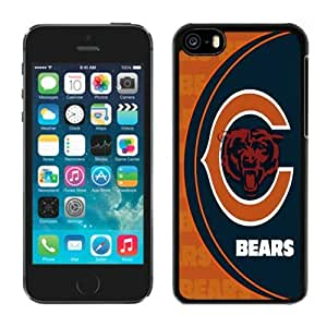 LJF phone case Iphone 5c Case NFL Chicago Bears 17 Moblie Phone Sports Protective Covers