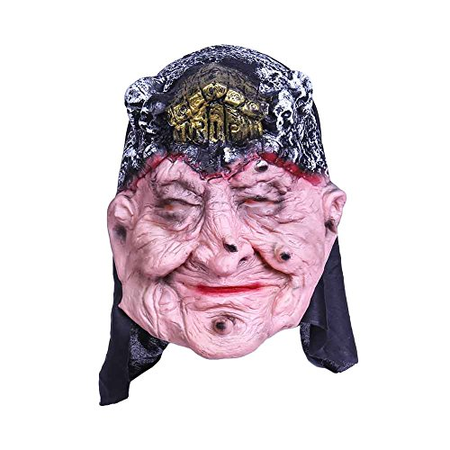 Chenkaiyang Novelty Halloween Mask Scary Costume Ghost Cosplay Party Fright Mask or (Really Cool Kids Costumes)