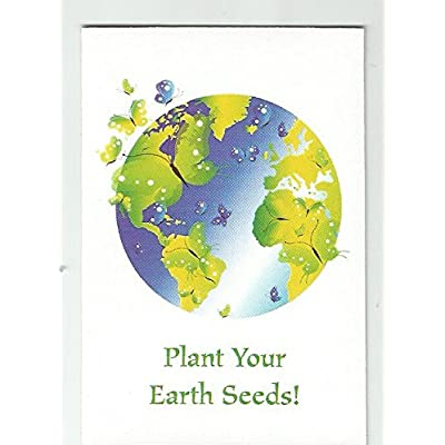 Set of 7 Earth Day Mini Seed Packets: Grocery & Gourmet Food