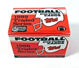 1989 Topps Traded Football Complete Mint 132 Card