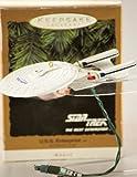 Hallmark Star Trek The Next Generation U.S.S. Enterprise Blinking Light Keepsake Ornament