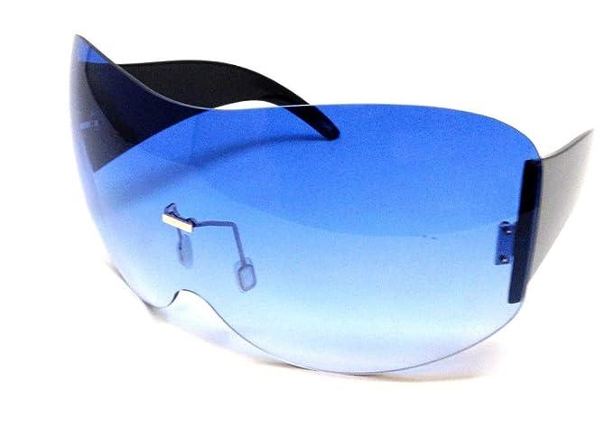 Amazon.com: Alps - Gafas de sol mono de gran tamaño, una ...