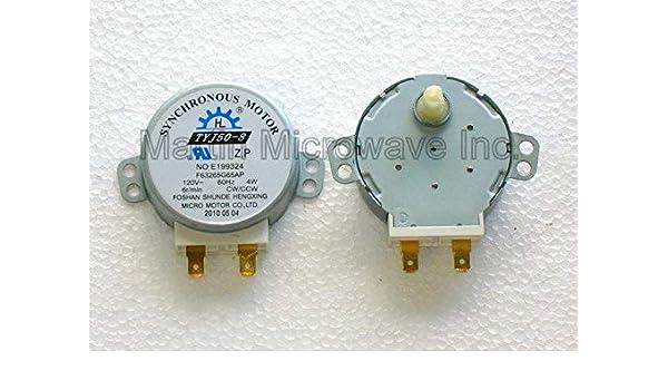 Sanyo/Sears 120 V para plato giratorio del microondas motor ...