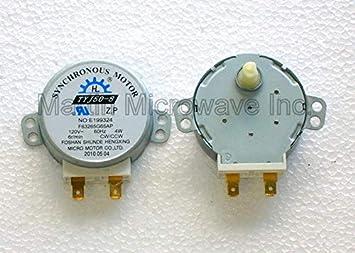 Sanyo/Sears 120 V para plato giratorio del microondas motor para ...
